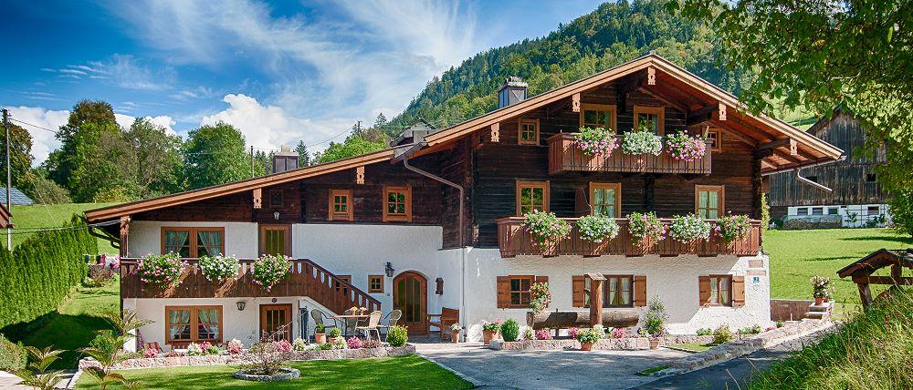 Das Neuhäusl in Untersalzberg bei Berchtesgaden mit 2 schönen Ferienwohnungen